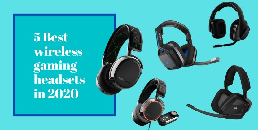 5 Best wireless gaming headsets in 2020
