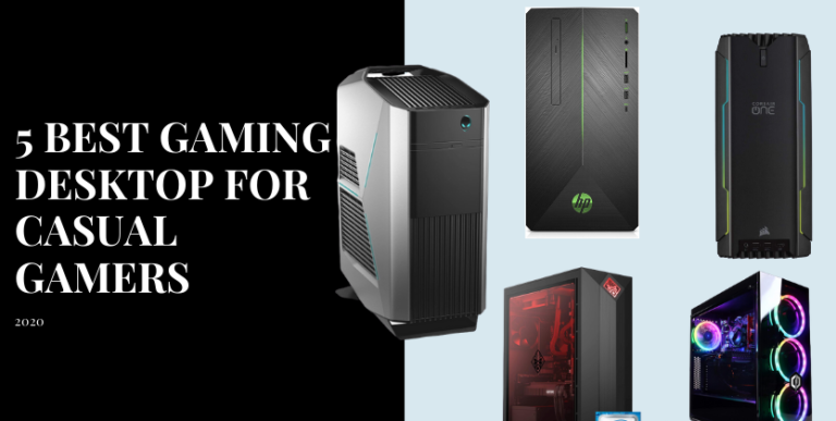 5 best gaming desktop for casual gamers 2020