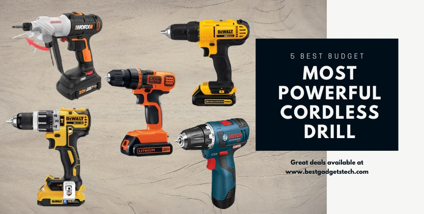 Most powerful cordless drill