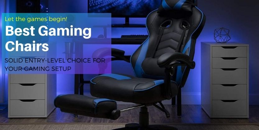 5 Best gaming chair for back support 2021 - bestgadgetstech