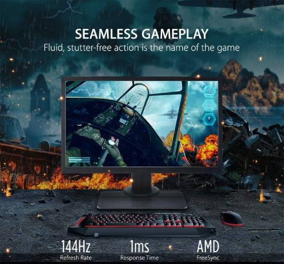 ViewSonic Elite XG240R - best 144Hz Gaming Monitors