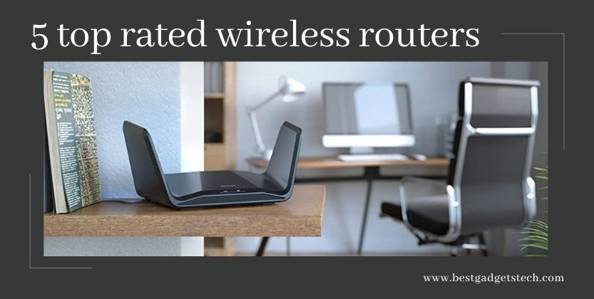 5 top rated wireless routers in 2021