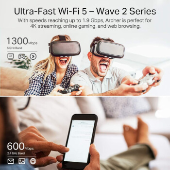 TP-Link AC1900 Smart WiFi Router (Archer A8)