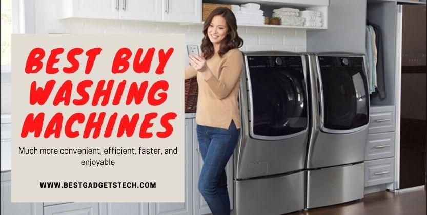 Best Buy Washing Machines 2021